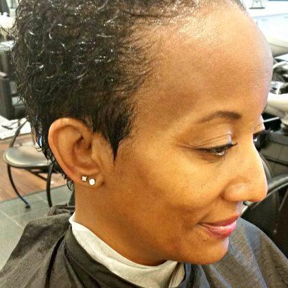 Mom's Hair Style